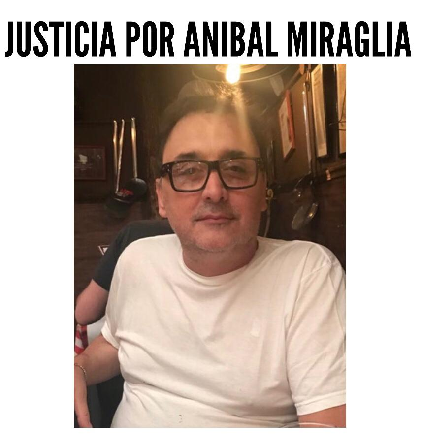 Justicia por Aníbal Miragle